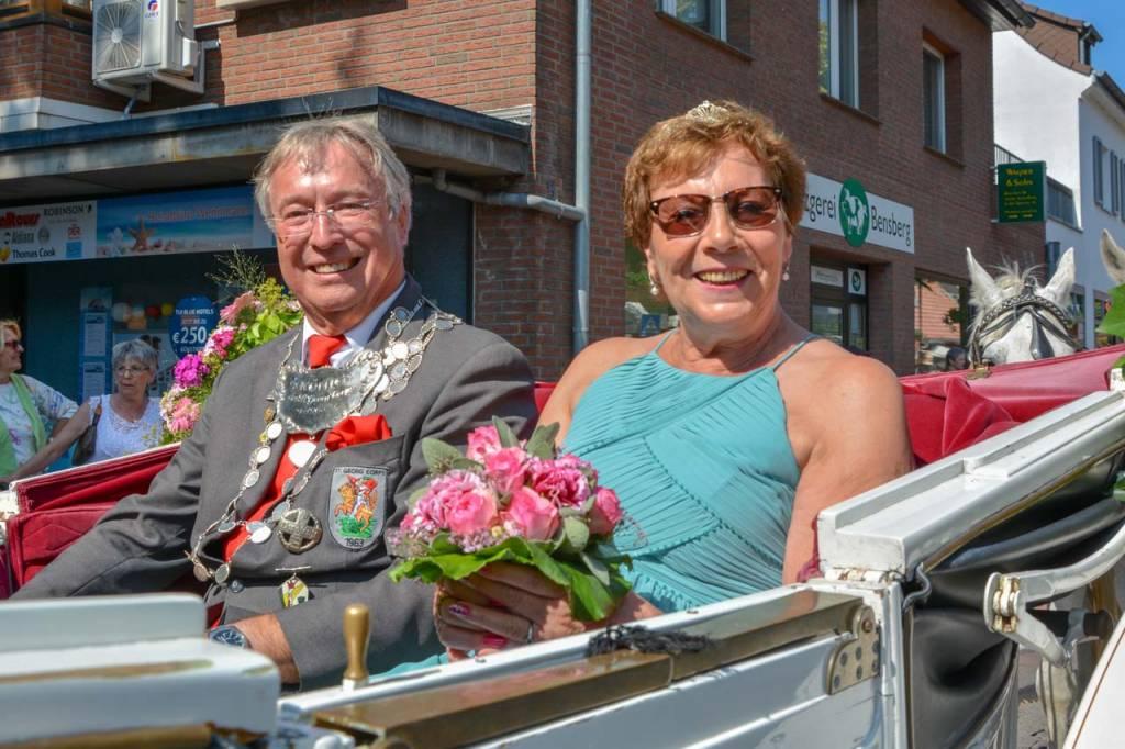 2018 König Karl-Heinz Jörgens mit Gisela Jörgens